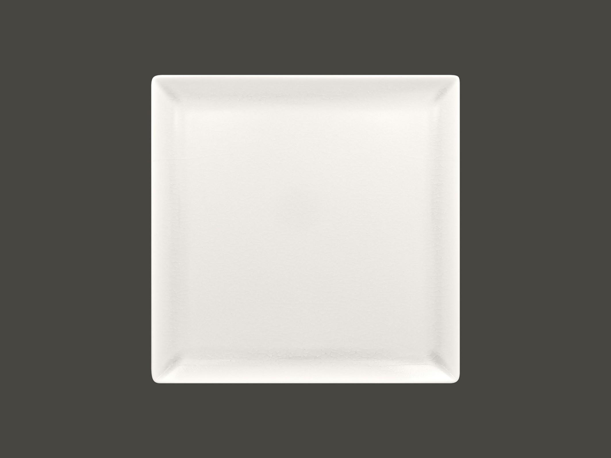 Čtvercový talíř - white Vintage