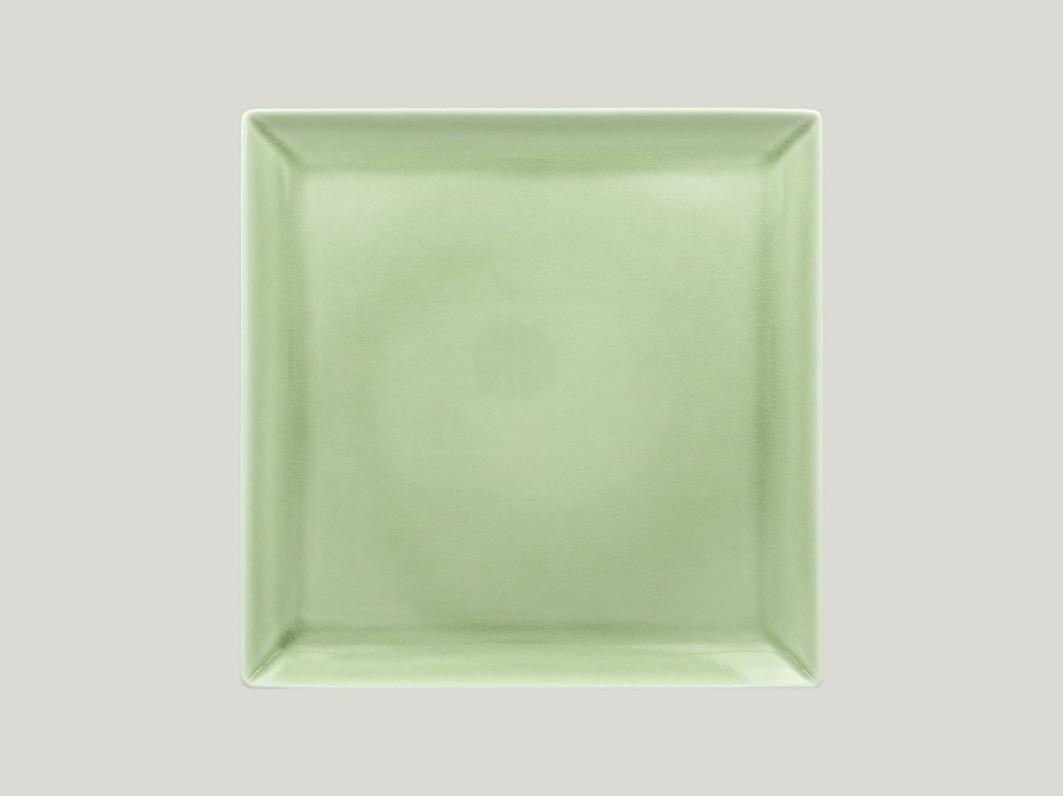 Čtvercový talíř - green Vintage