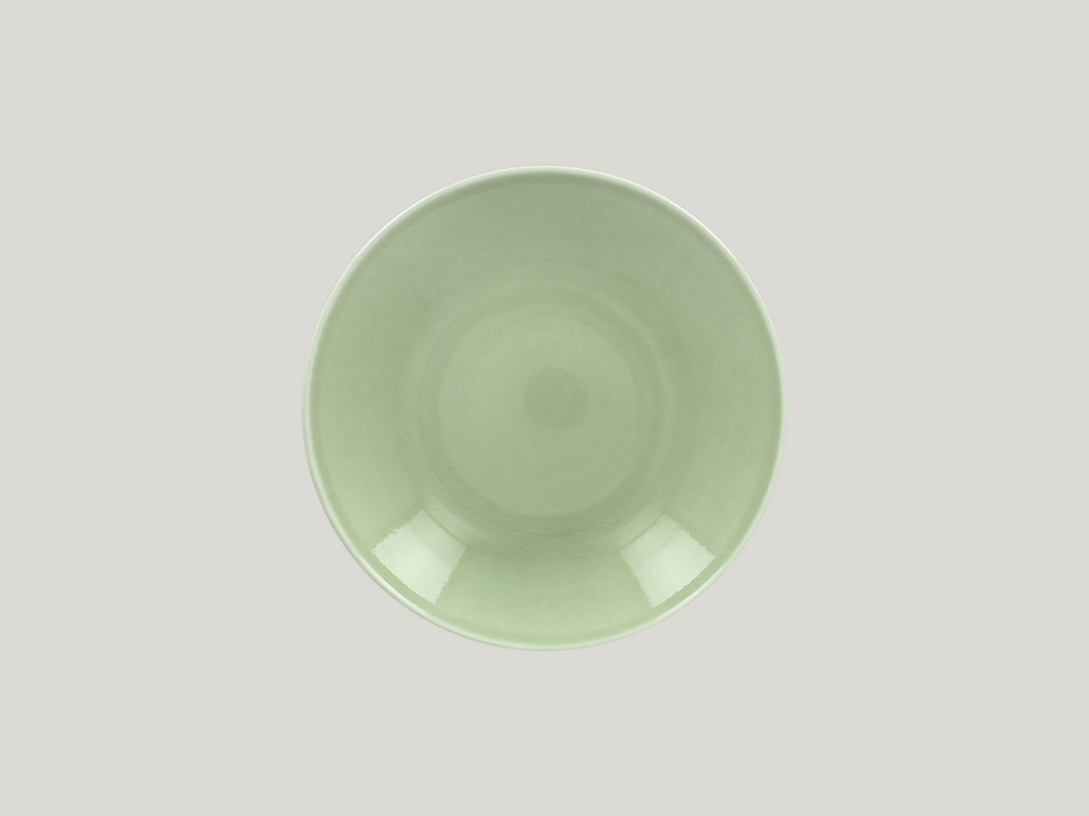 hluboký coupe talíř - green Vintage