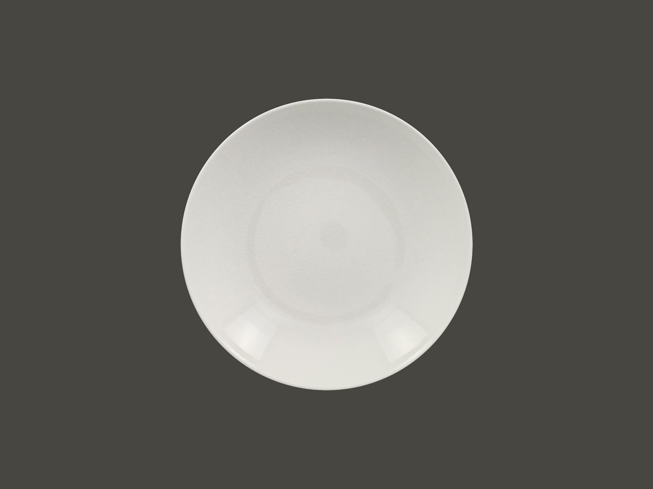 hluboký coupe talíř - white Vintage