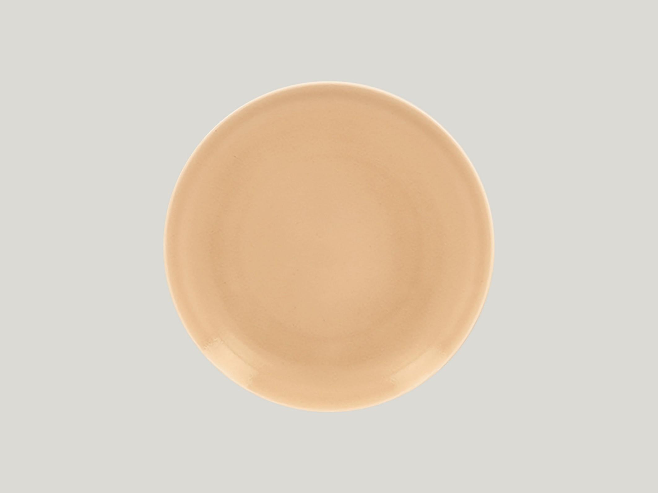 mělký coupe talíř - beige Vintage