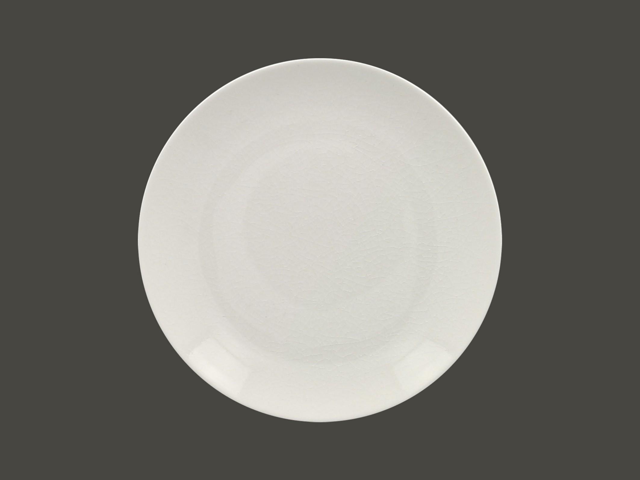 Vintage talíř mělký coupe 27 cm - bílá