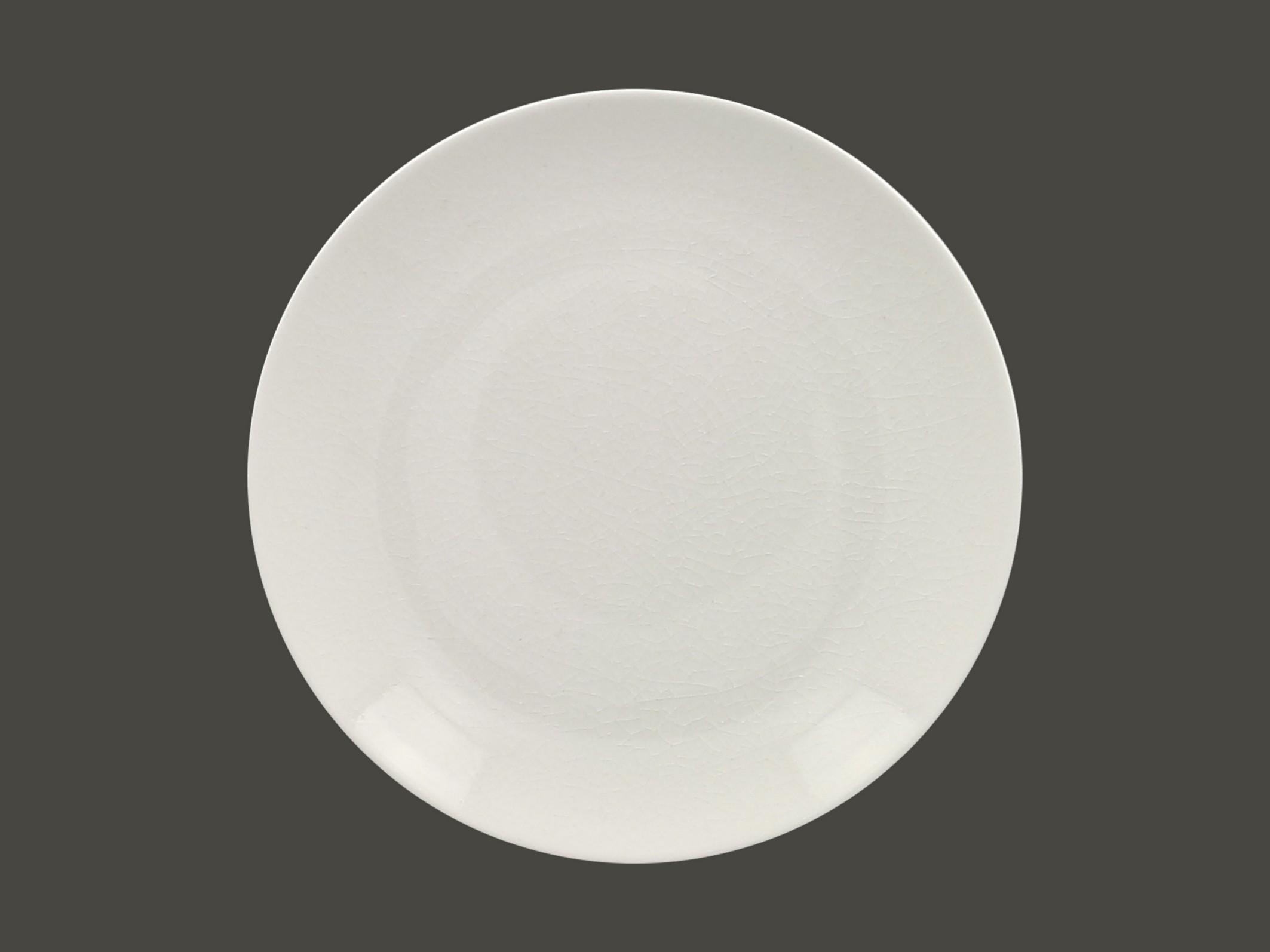 Vintage talíř mělký coupe 29 cm - bílá