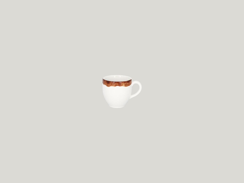 Šálek na espresso 9 cl - světle hnědá