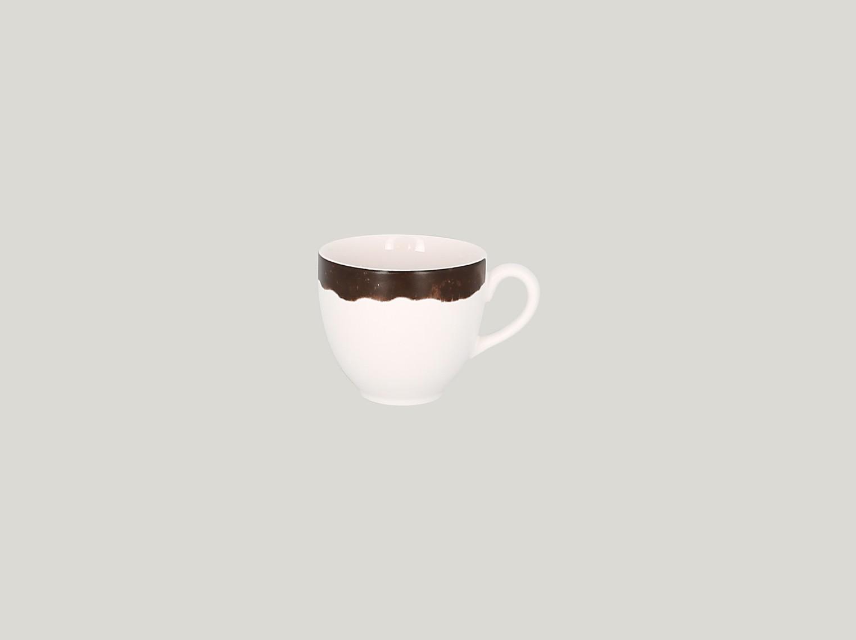 Šálek na kávu 28 cl - tmavě hnědá
