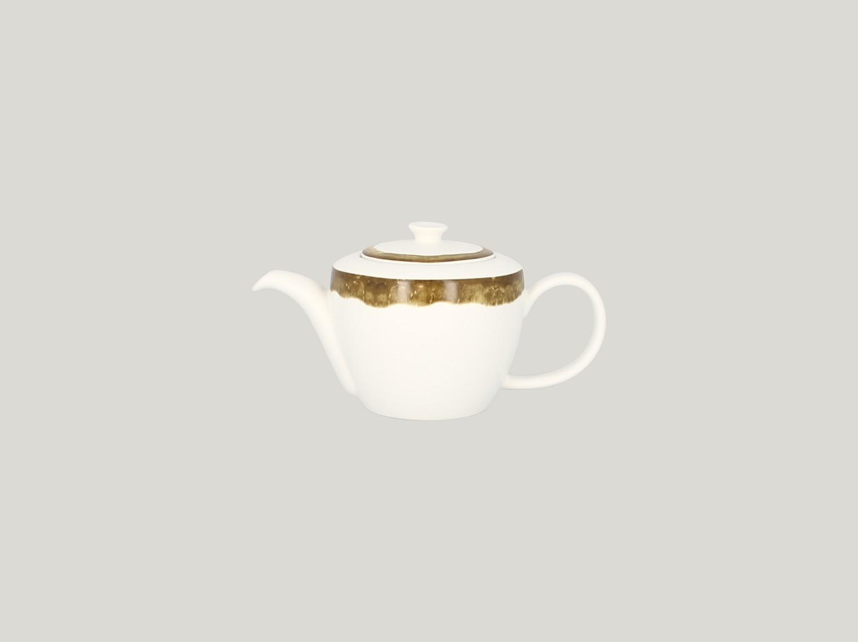 Konvice na čaj s víčkem - zelená Woodart