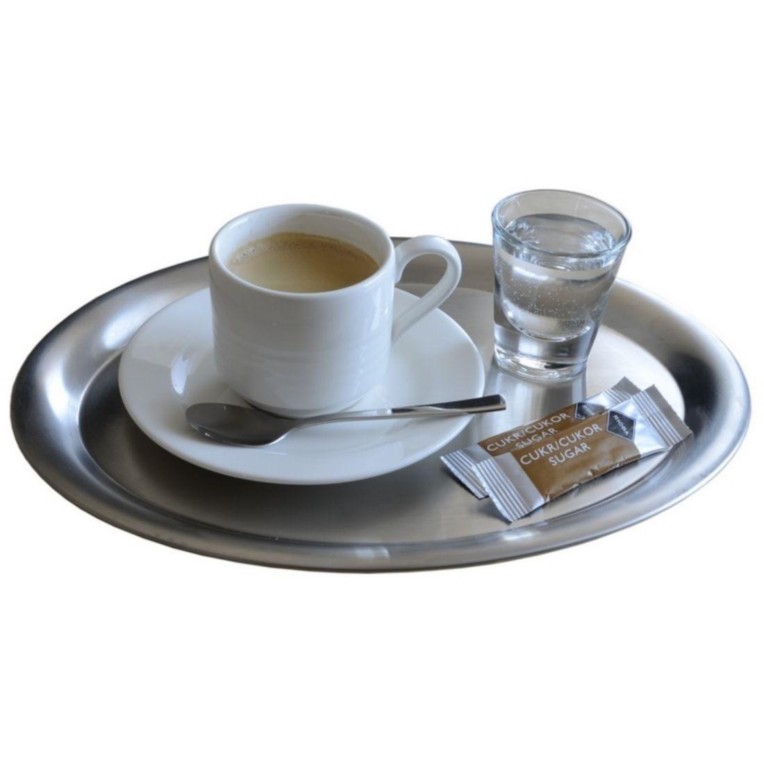 Tác na servírování kávy 203x145mm matný