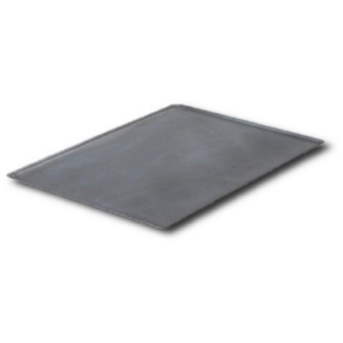 Plech na pečení - černá ocel 53×32,5 cm