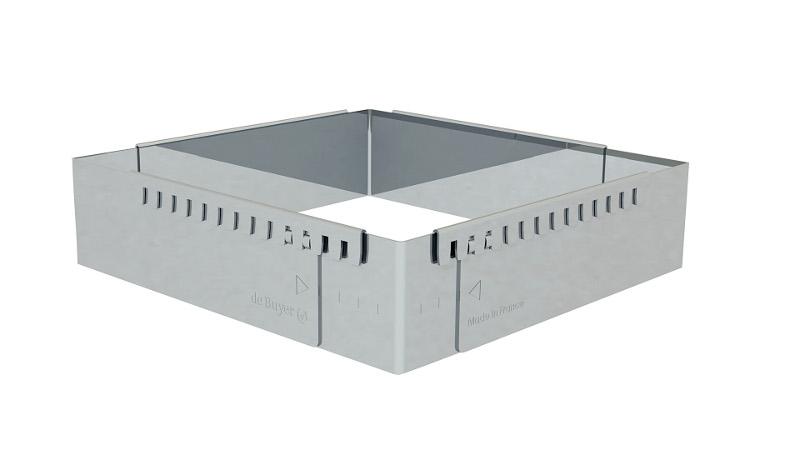 Forma nerezová rozšířitelná 840x560 mm