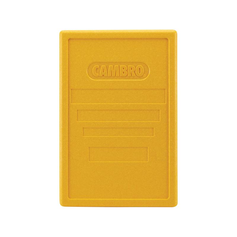 Víko barevné pro boxy GN 1/1 žlutá