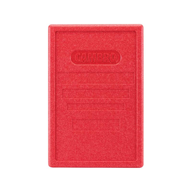 Víko barevné pro boxy GN 1/1 červené