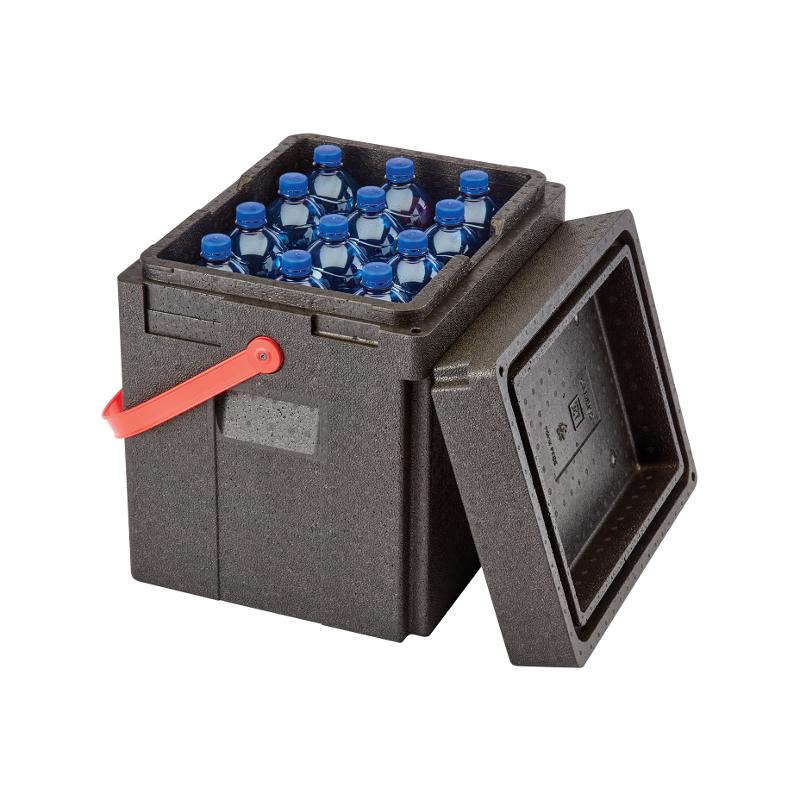 Termobox na láhve 35L - červený úchyt