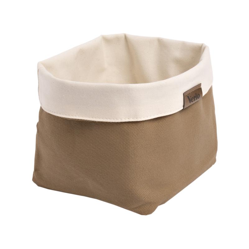 Taška na pečivo bavlna béžová