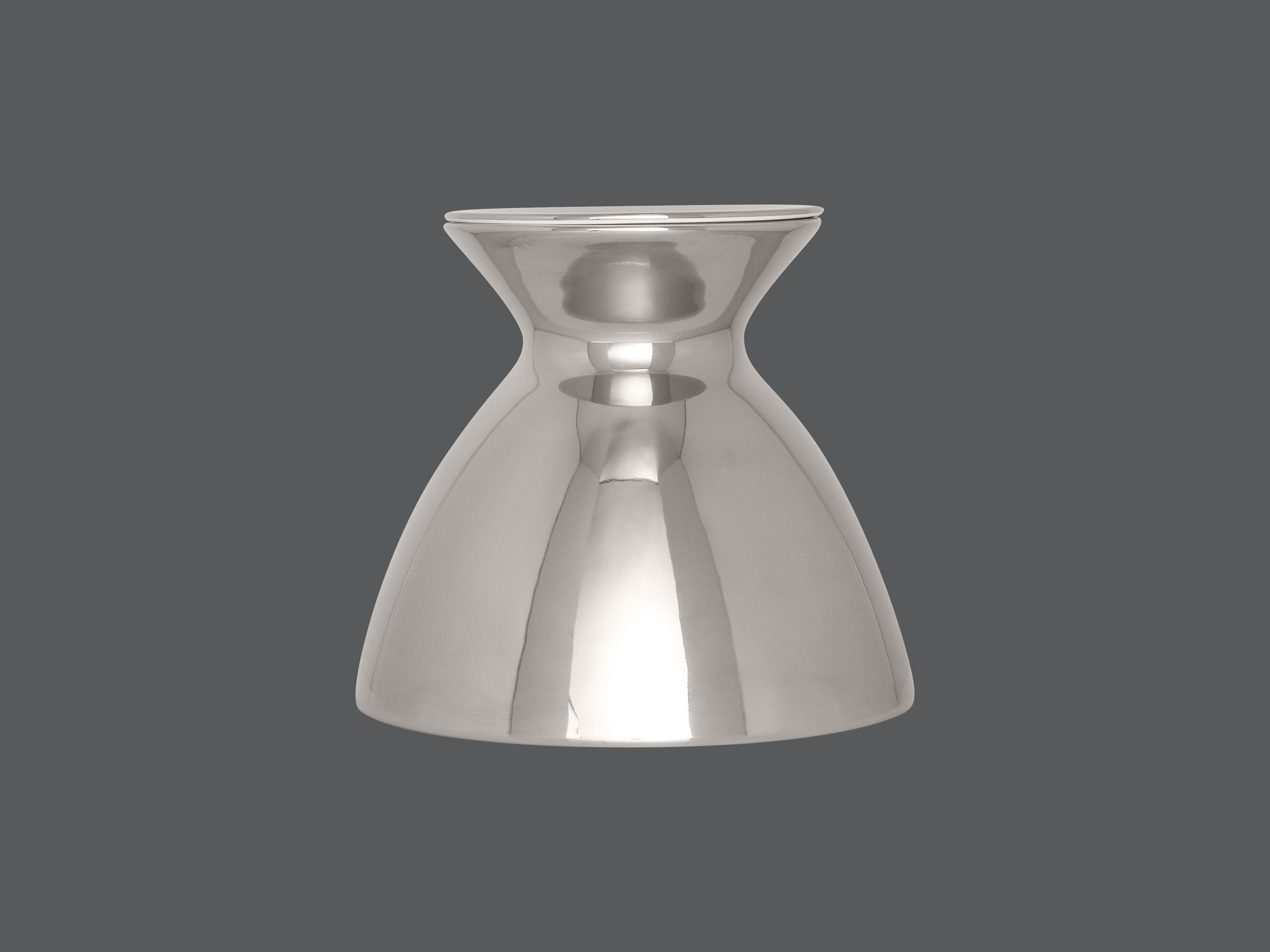 Gloš 18 cm - stříbrná