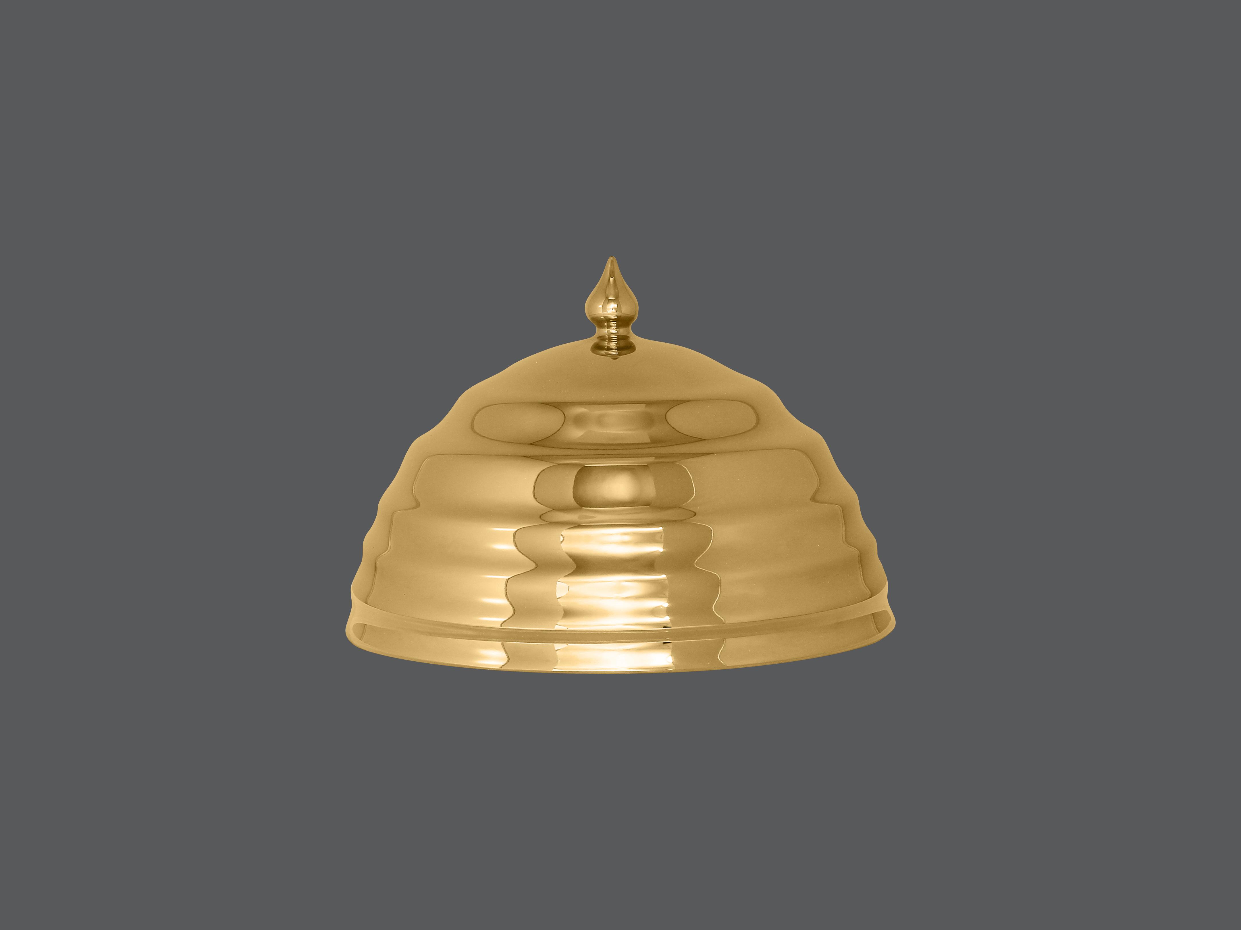 Gloš 18 cm - zlatá