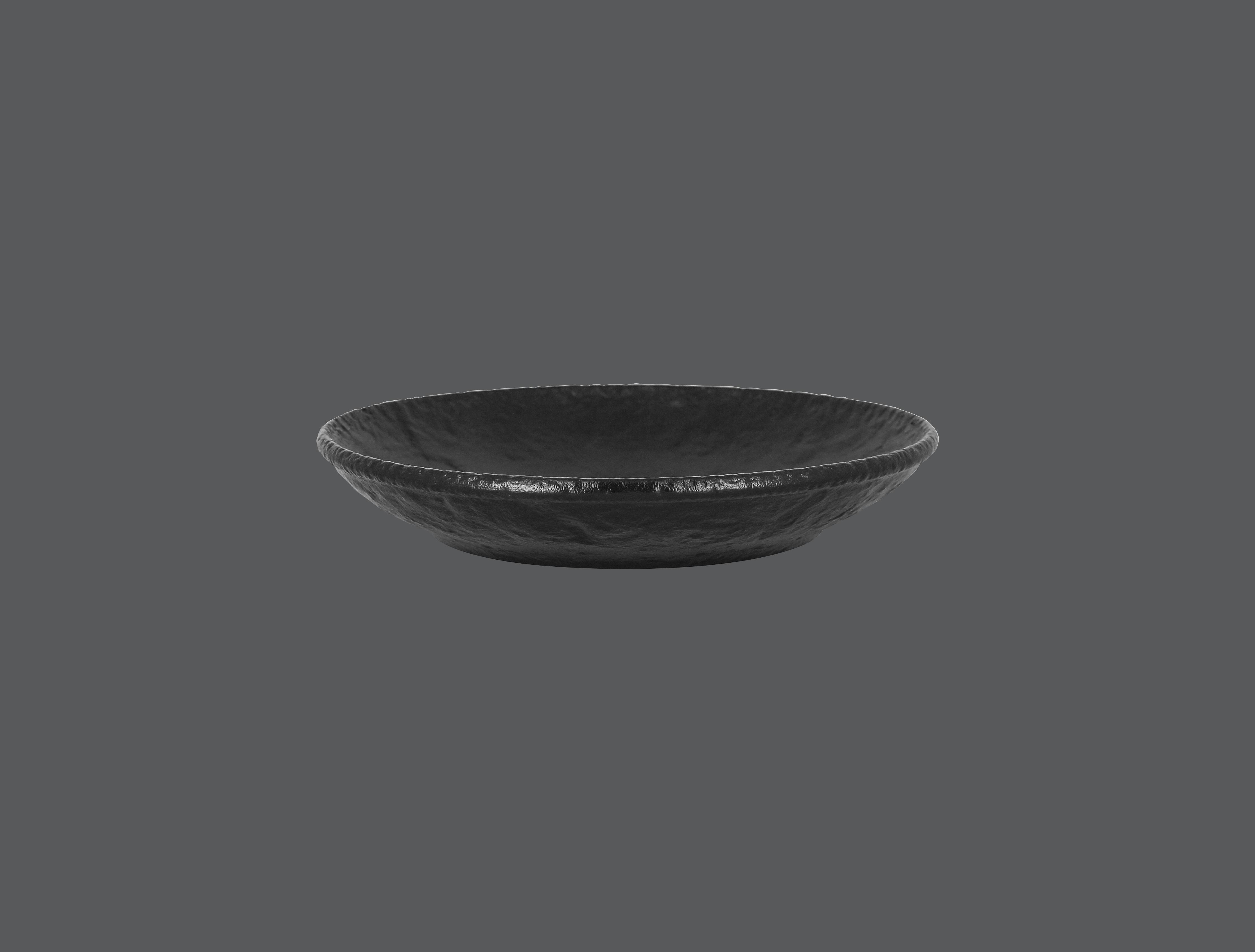 Roks talíř hluboký 26 cm - černá
