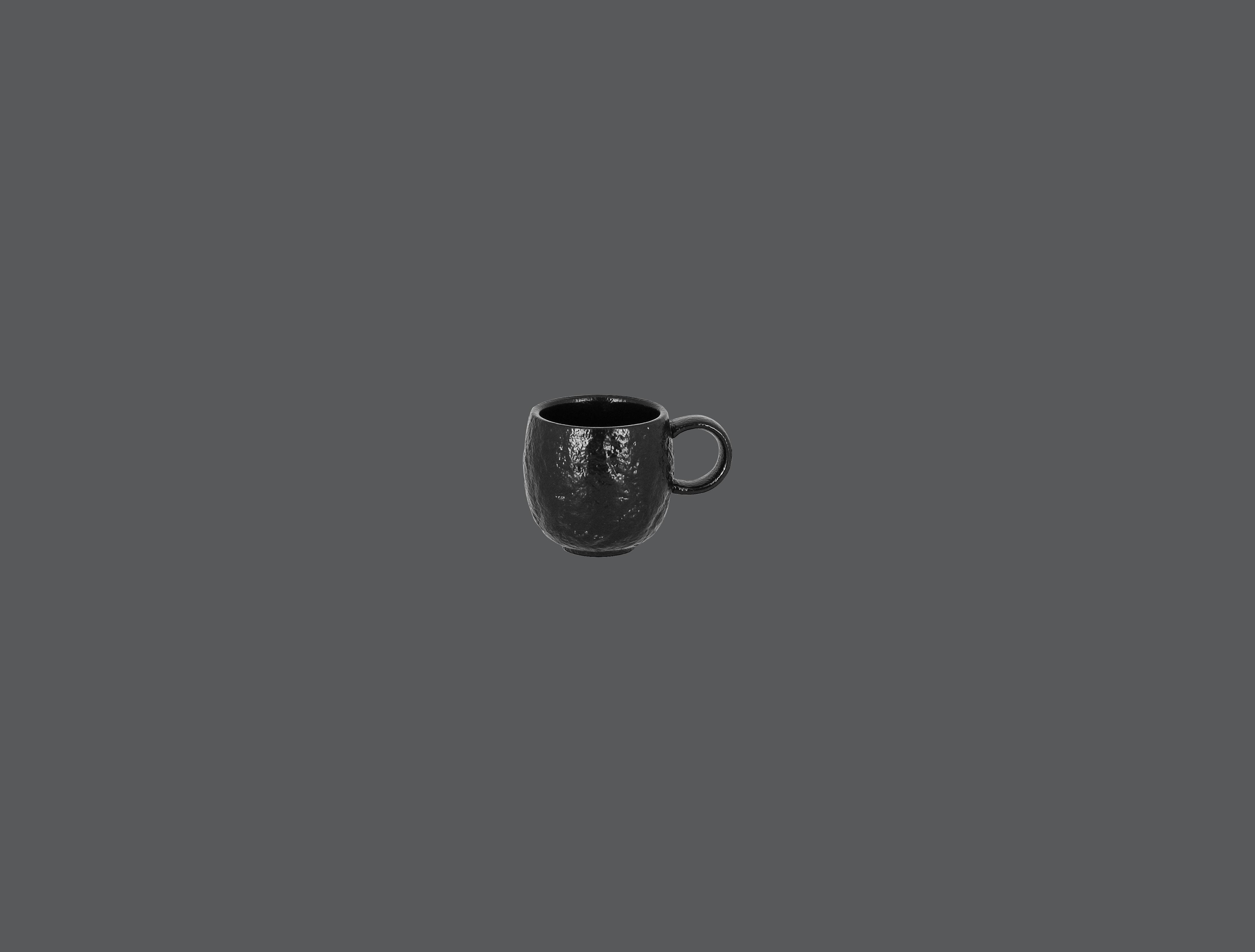 Roks šálek na espresso 9 cl - černá