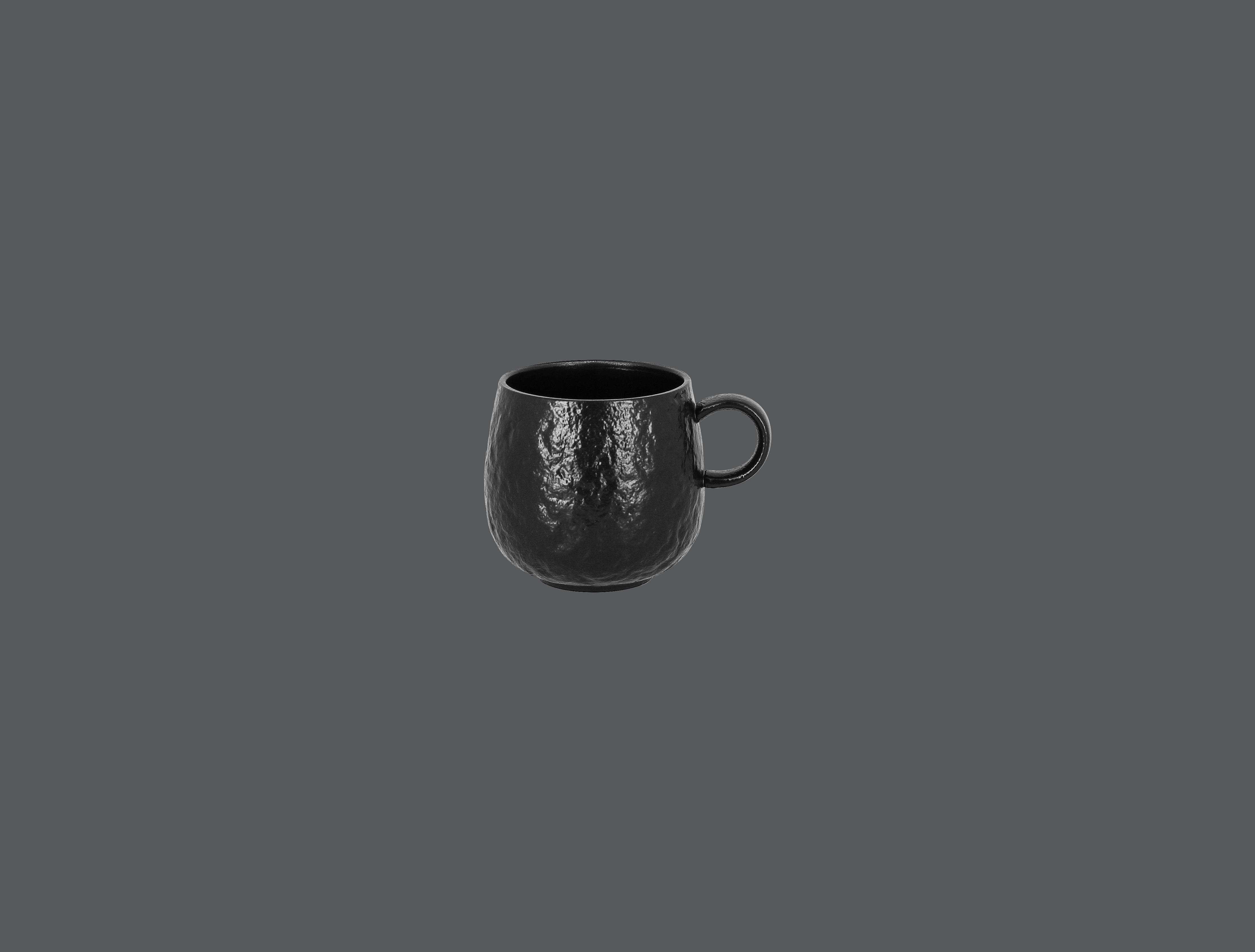 Roks šálek 33 cl - černá