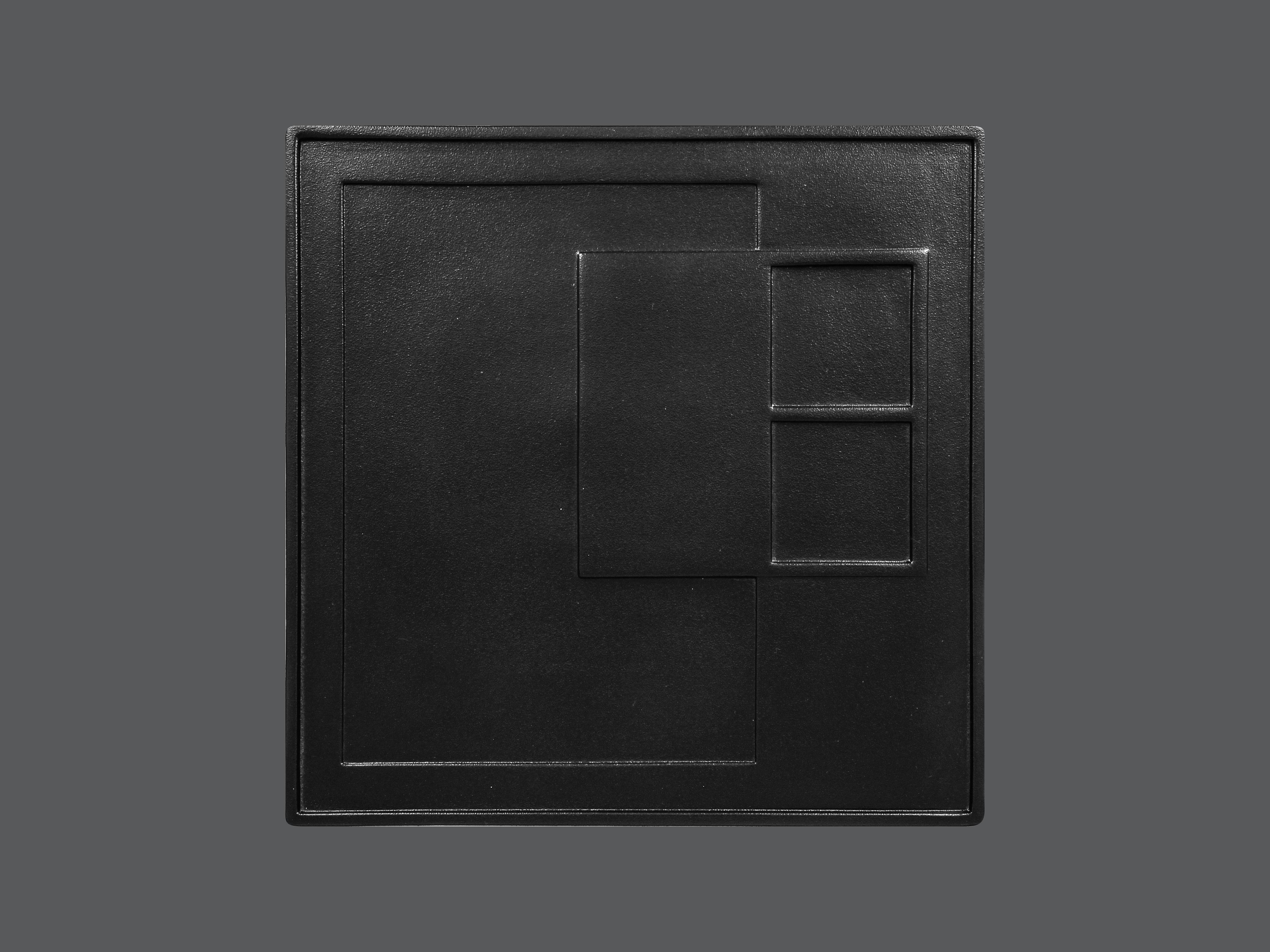 Sensation talíř čtvercový 30 cm - ABURA