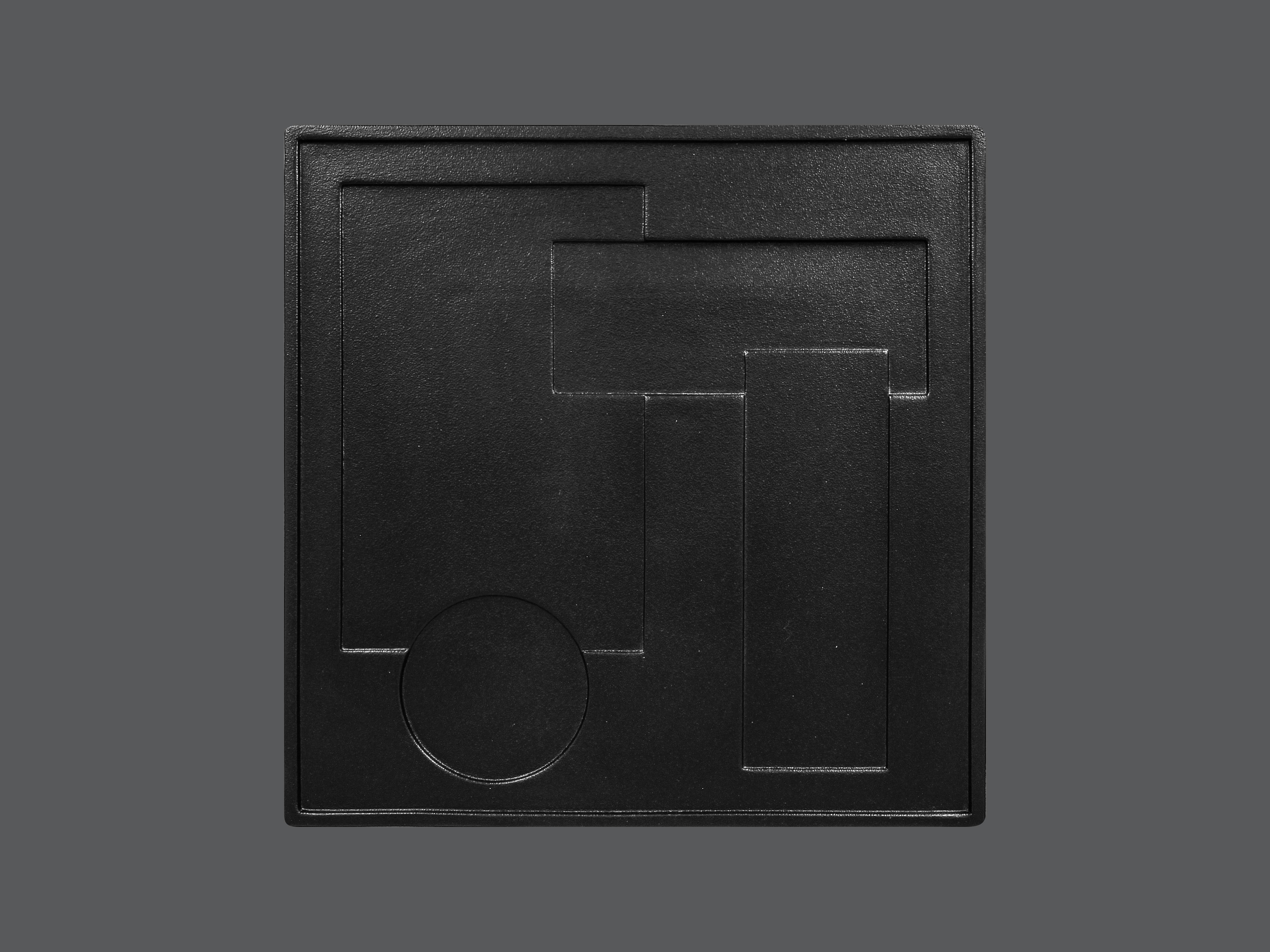 Sensation talíř čtvercový 30 cm - KUDAMONO
