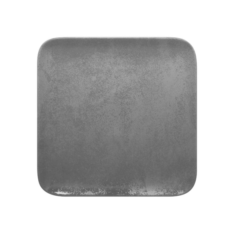Talíř čtvercový 24 cm - šedá