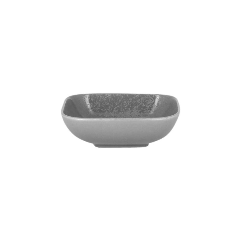 Miska čtvercová 11 x 11 cm - šedá