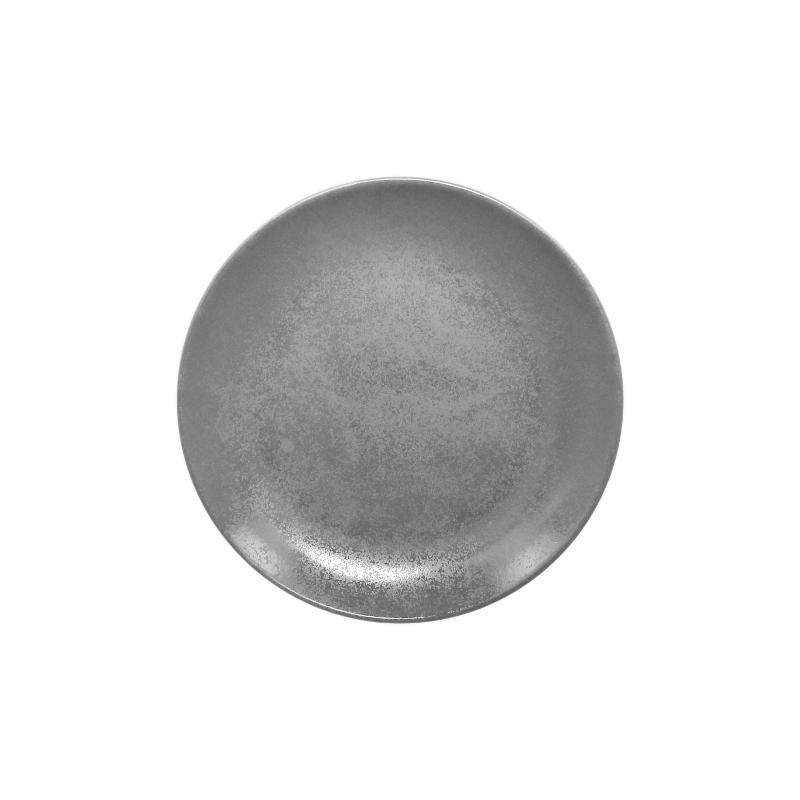 Talíř dezertní kulatý 18 cm - šedá