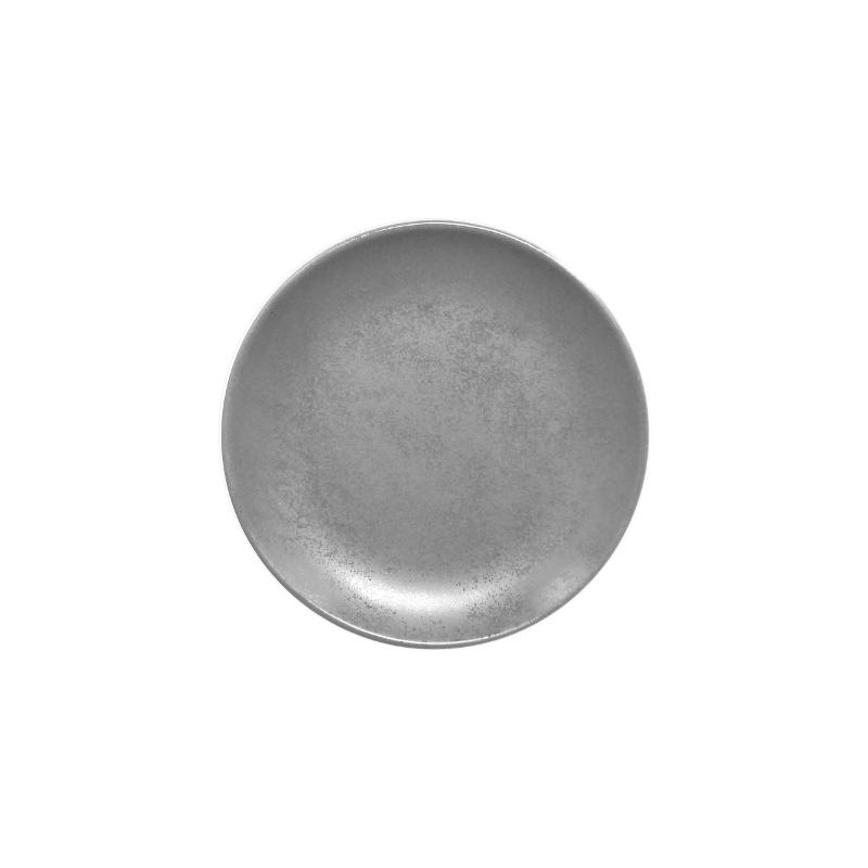 Talíř dezertní kulatý 15 cm - šedá
