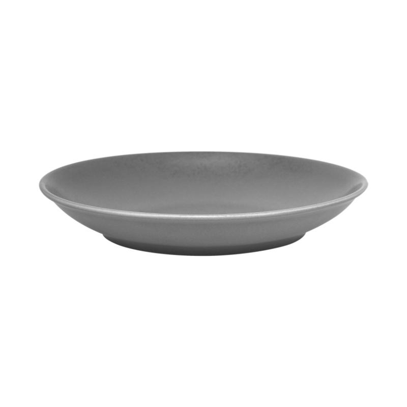 Talíř hluboký 28 cm - šedá