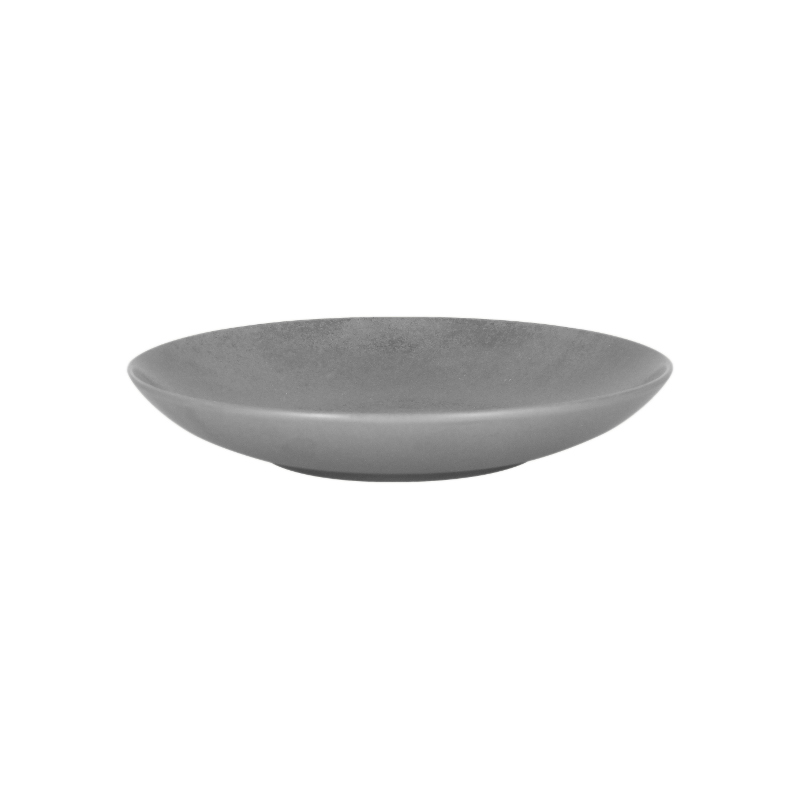 Talíř hluboký 23 cm - šedá