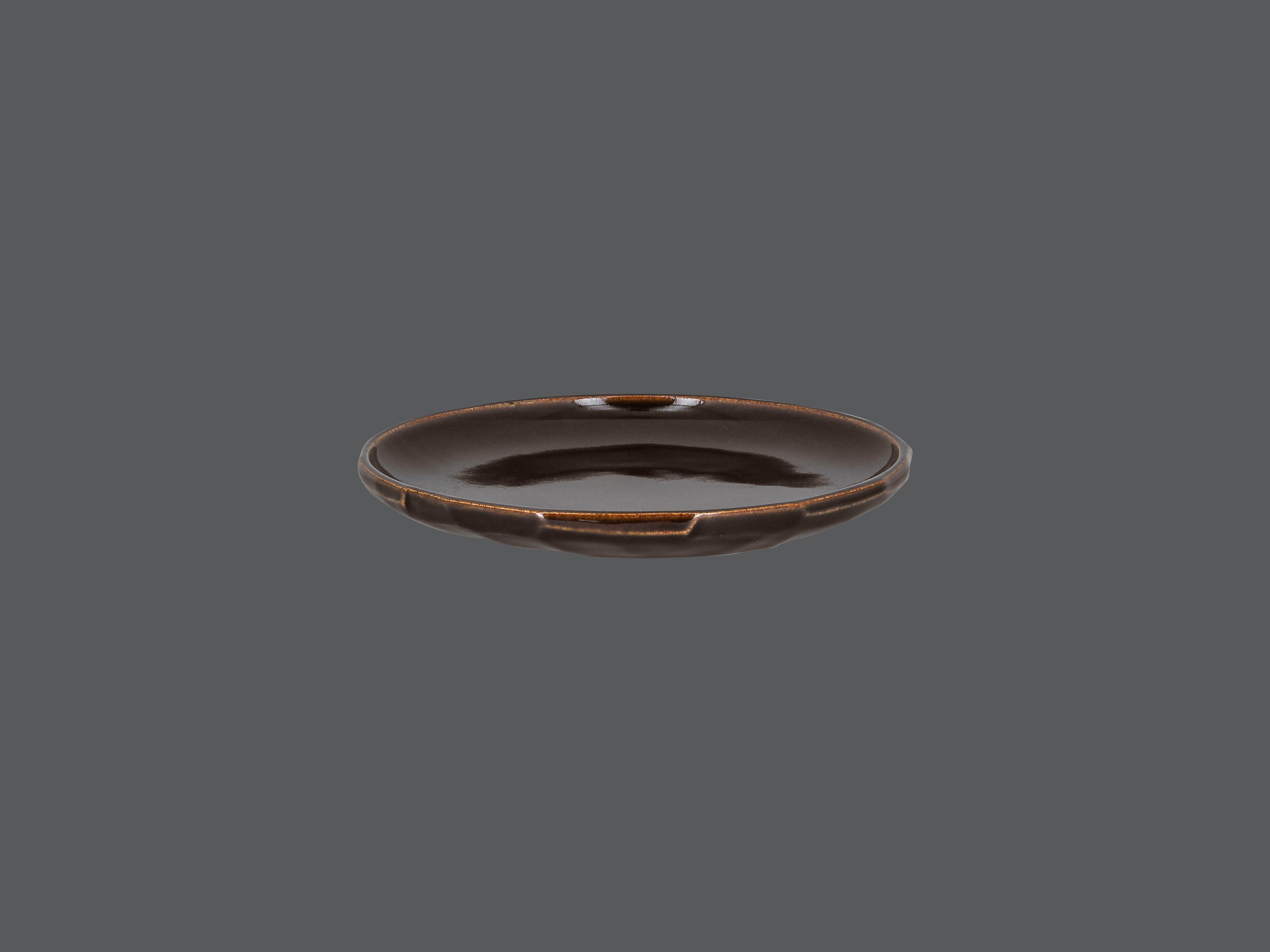 SKETCHES mělký talíř vyřezávaný