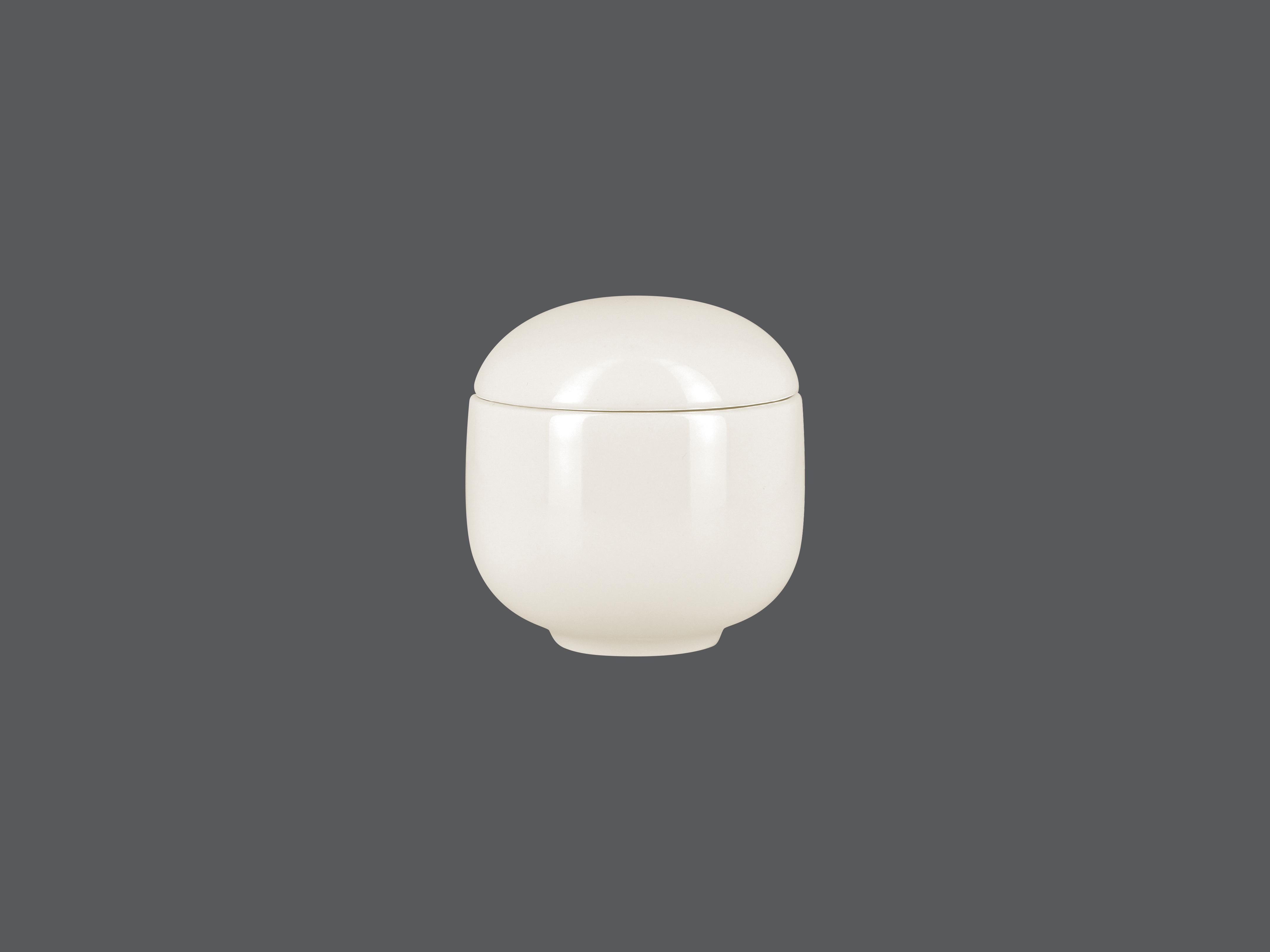 Cukřenka s víčkem 19 cl - bílá