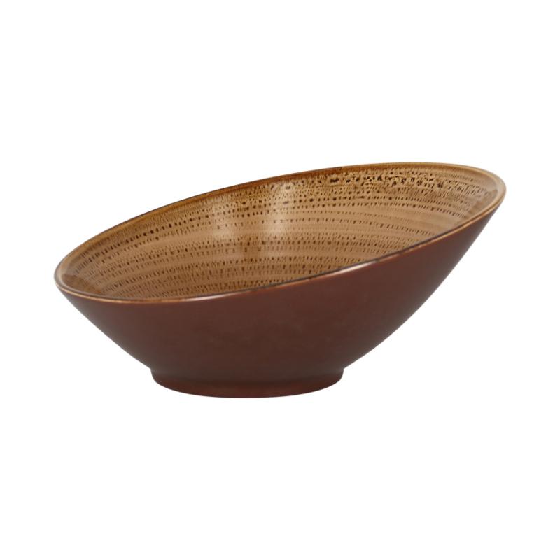 Miska zkosená 29 cm - shell