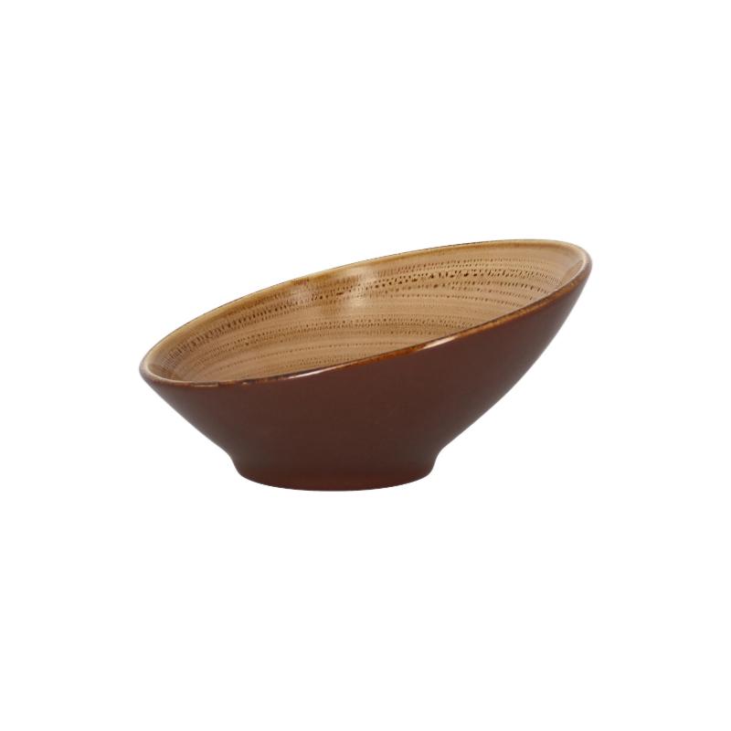 Miska zkosená 22 cm - shell