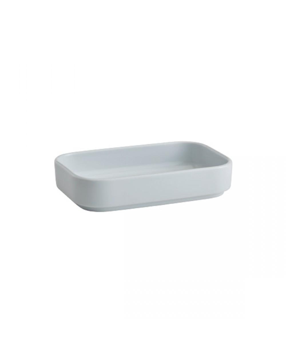 Obdélný porcelánový talíř 11 x 18 cm