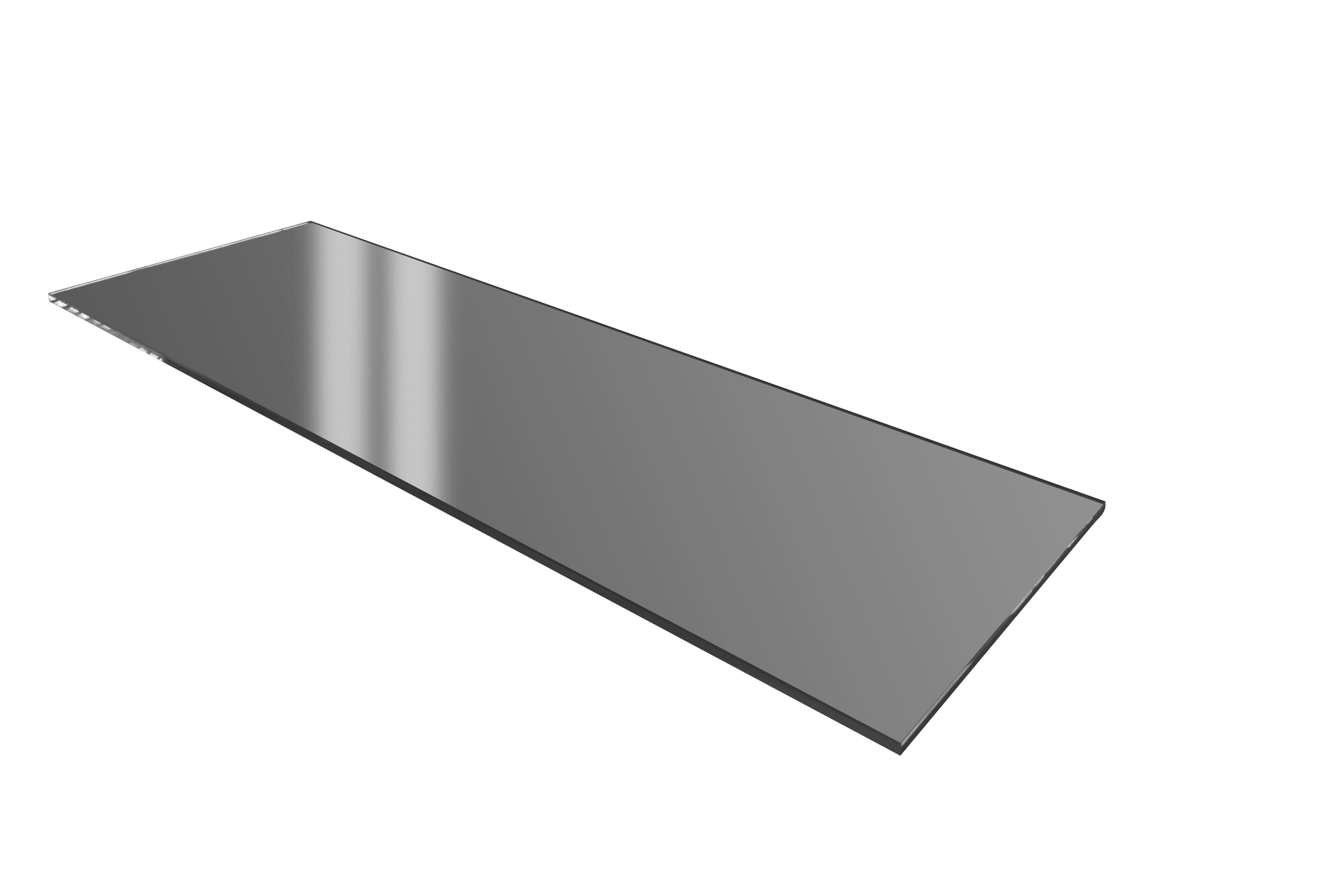 Tvrzené tmavé sklo GN 1/1 - Verlo