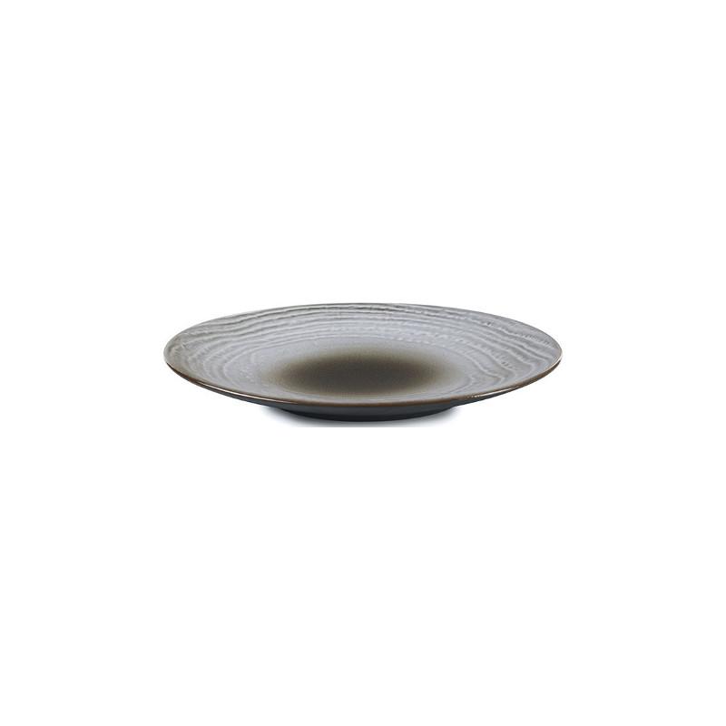 Talíř na chléb 16 cm - hnědý písek