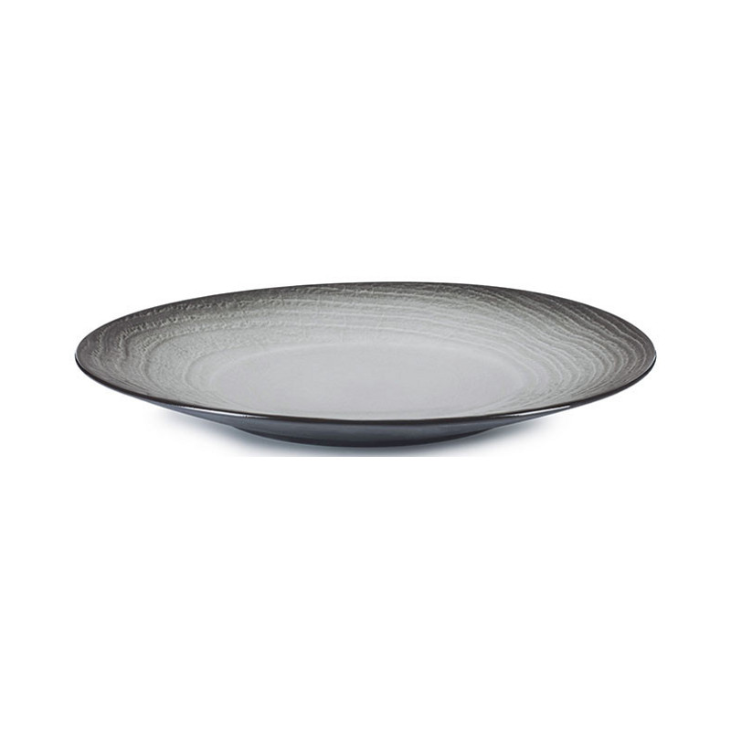 Talíř 28,3 cm - černý písek