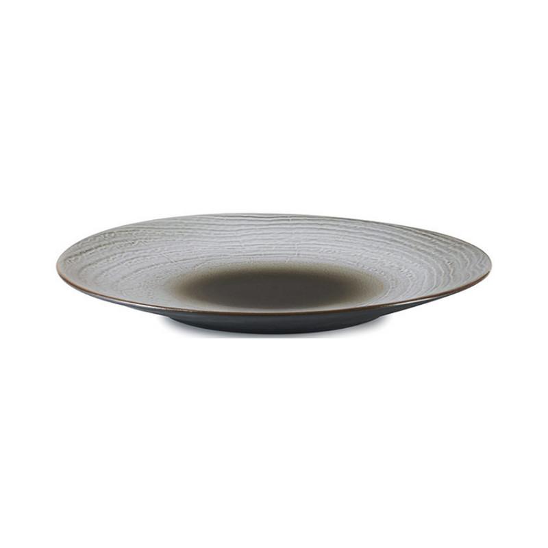 Talíř 28,3 cm - hnědý písek