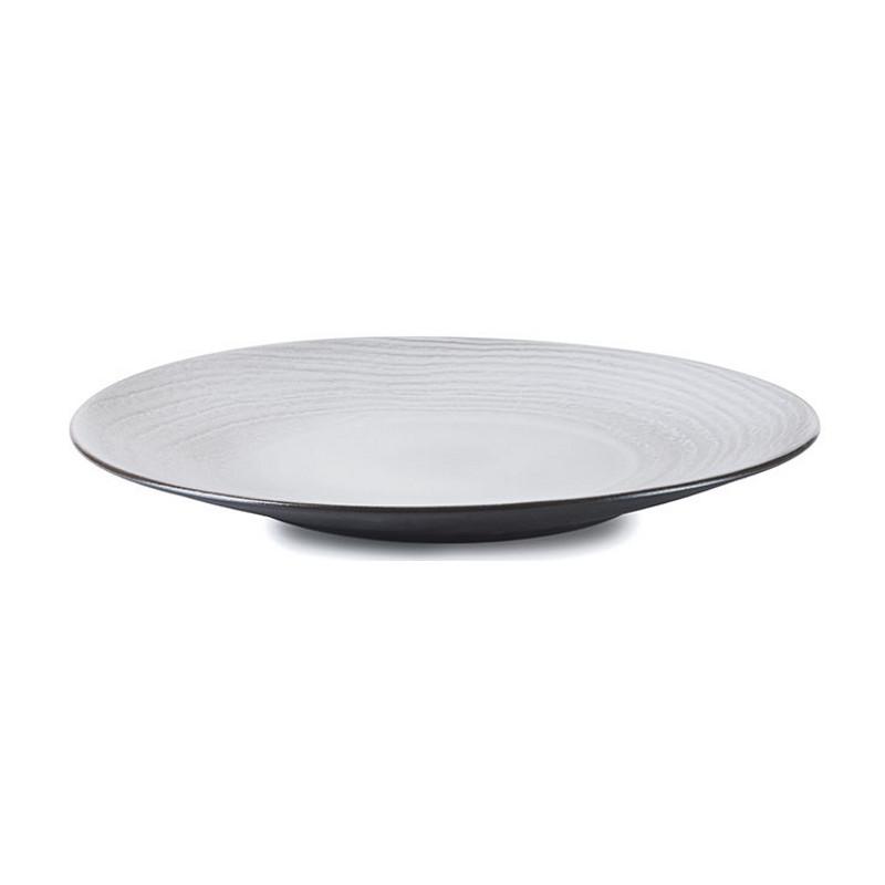 Talíř 31 cm - bílý písek