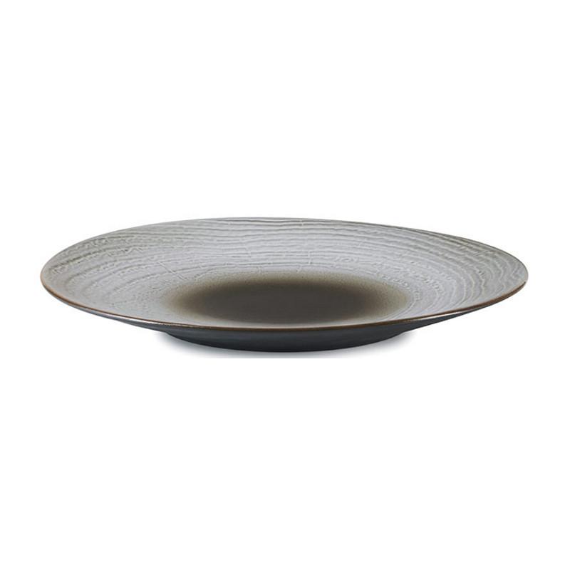 Talíř 31 cm - hnědý písek