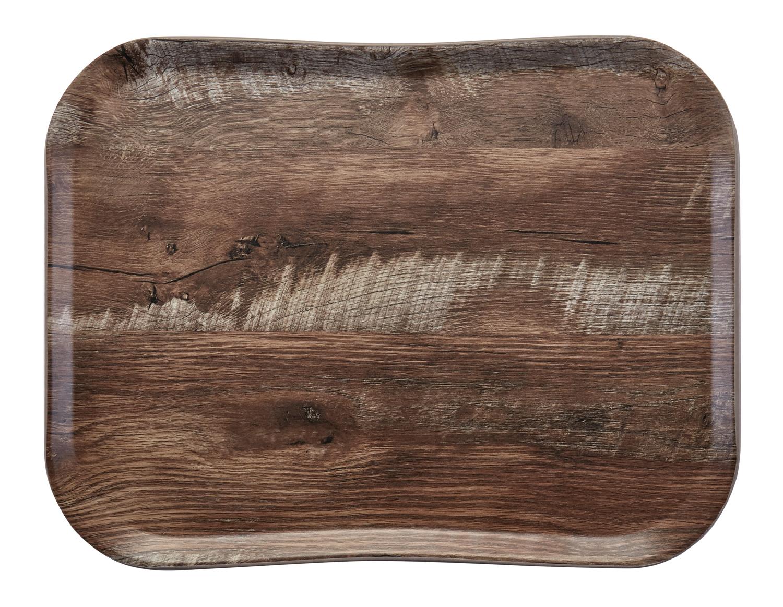 Podnos Wood polyesterový 33x43 cm
