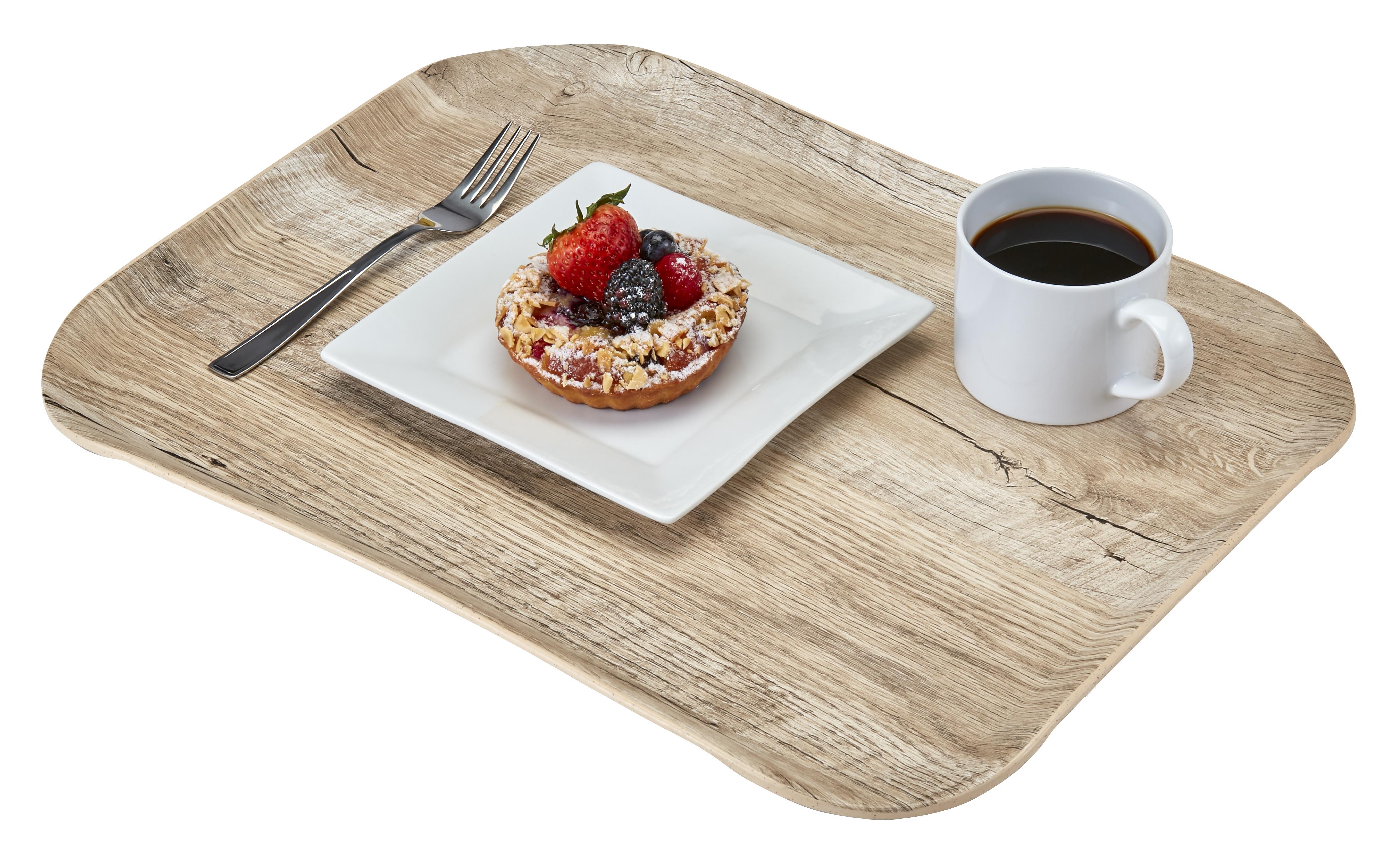 Podnos Wood polyesterový 35,5x45,7 cm