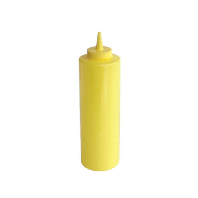 Dávkovač na omáčky žlutý 360 ml