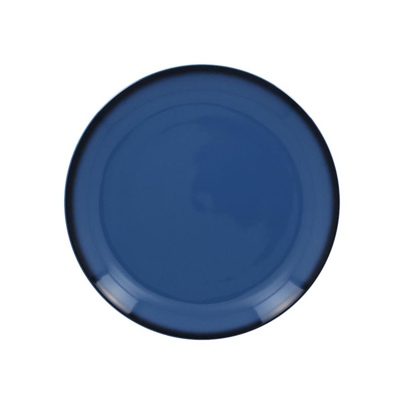Talíř mělký kulatý 24 cm - modrá
