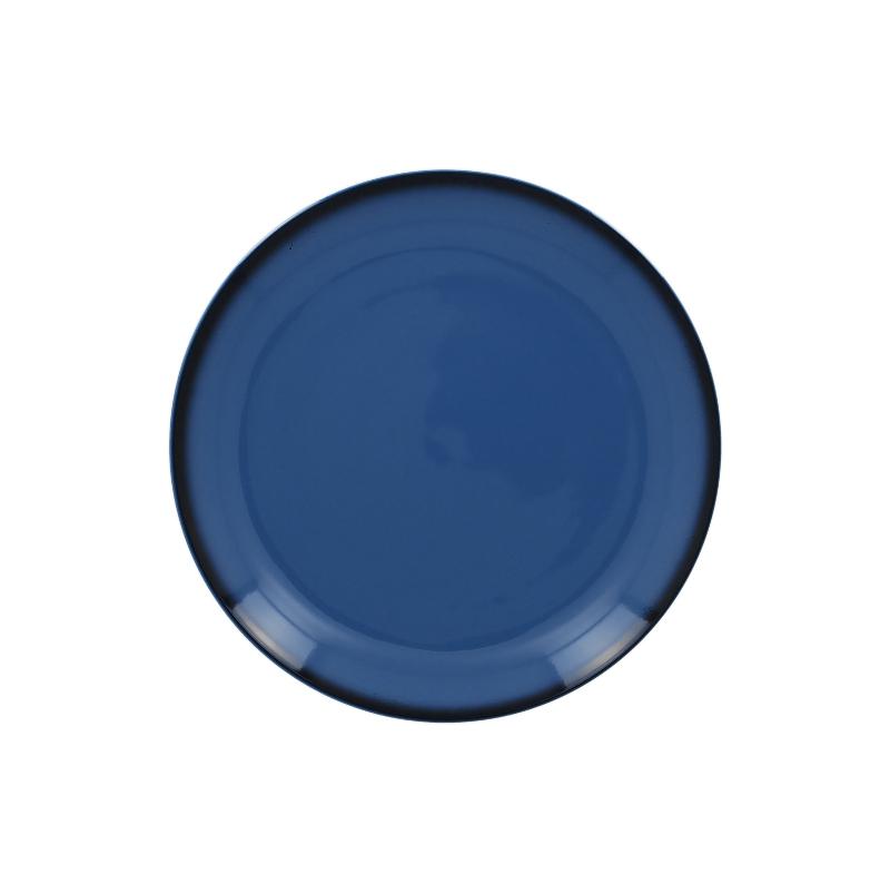 Talíř mělký kulatý 21 cm - modrá