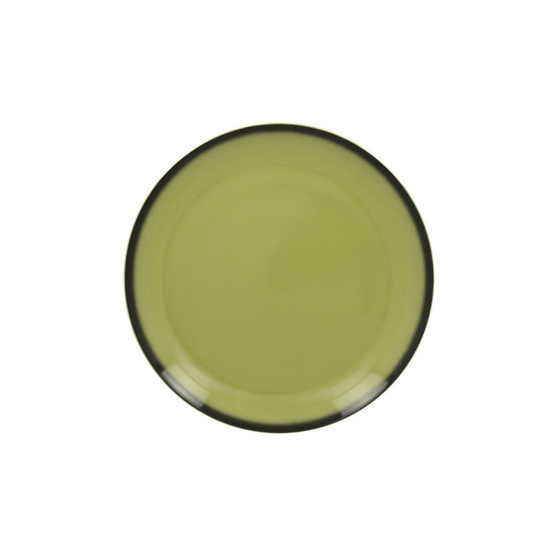 RAK Talíř mělký kulatý 18 cm - zelená