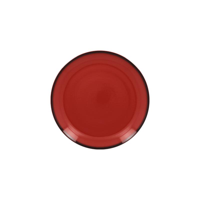 RAK Talíř dezertní kulatý 15 cm - červená