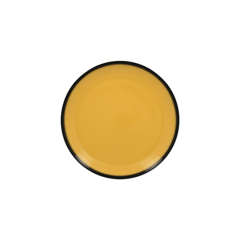 RAK Talíř dezertní kulatý 15 cm - žlutá