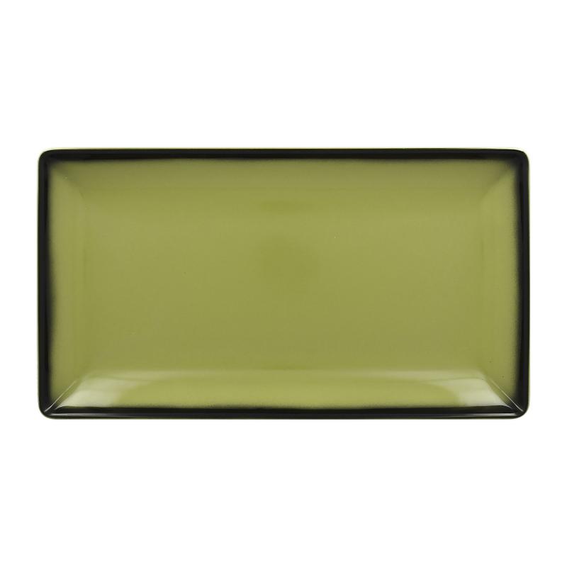 Talíř servírovací obdélný 33,5 cm x 18,1 cm - zelená